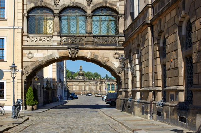 Dresden Palace Bridge