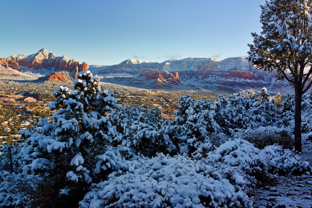 Sedona After Snow